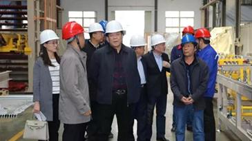 热烈欢迎潍坊市科技局、昌乐县科技局领导莅临我司参观指导